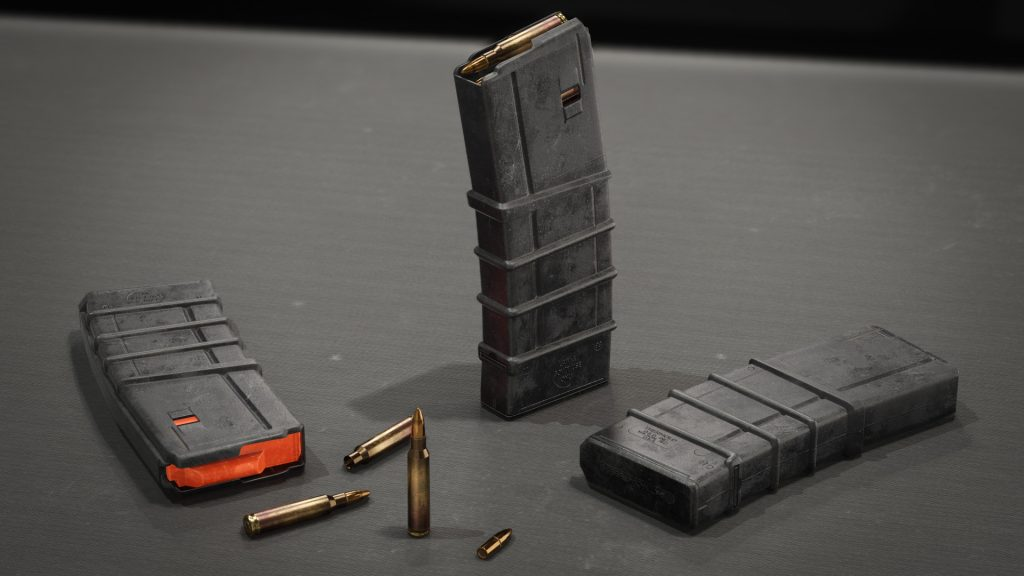 Thermold 30 Round Magazine 3d model